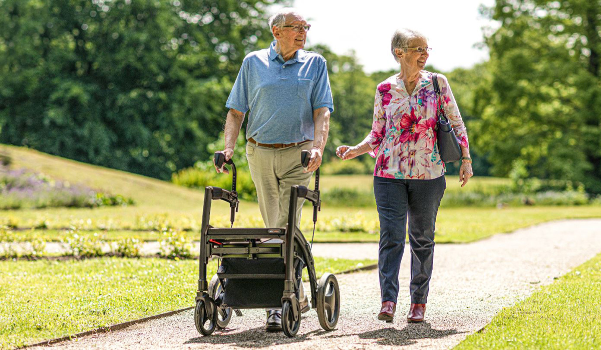 Parkinson's rollator covered by the health insurance